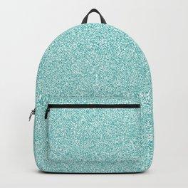 Melange - White and Verdigris Backpack