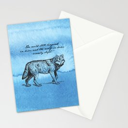 White Fang - Jack London Stationery Cards