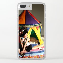 Step Right Up! Clear iPhone Case