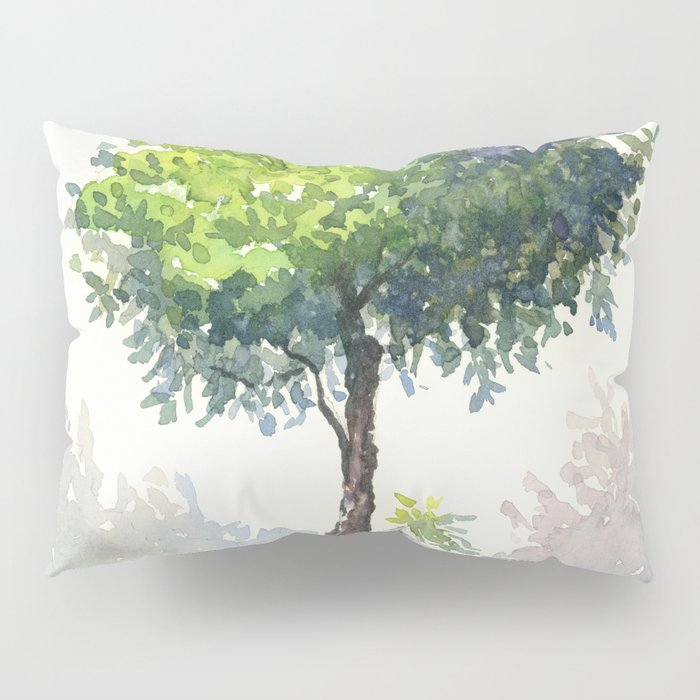Tree Study Pillow Sham