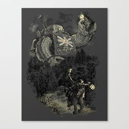 Twenty if by Giant Robot Canvas Print