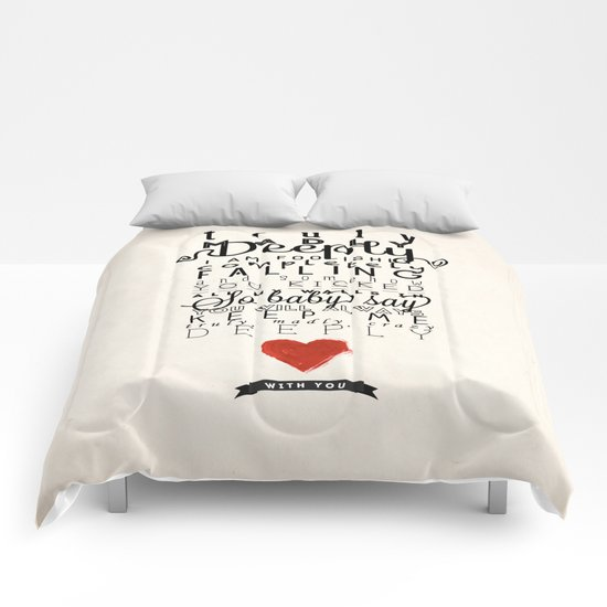 One Direction: Truly Madly Deeply Comforters