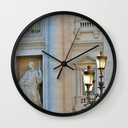 Lovely Sights of Rome Wall Clock
