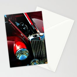 MG TA Classic Motor Car Stationery Cards