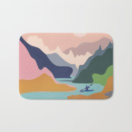 River Canyon Kayaking Bath Mat