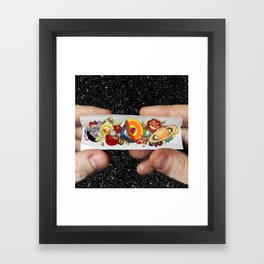 Roll with It Framed Art Print