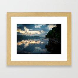 Backwaters Framed Art Print