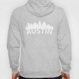 Curved Skyline Of Austin TX Hoody