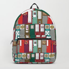 Modern Farmhouse Doors Backpack