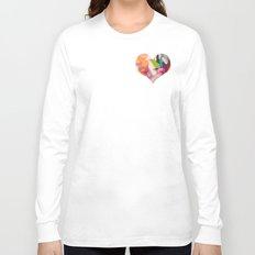 Deco Heart Long Sleeve T-shirt