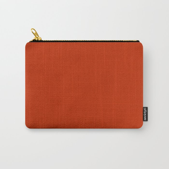 Burnt Sienna Carry-All Pouch