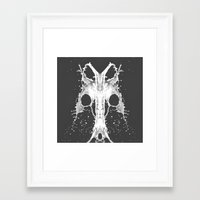 baphomet Framed Art Prints featuring Baphomet by photograph-bo