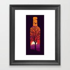 Bottled Up  Framed Art Print