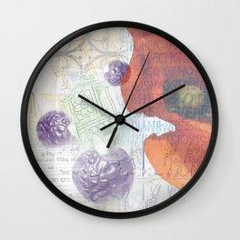 Memories of Italia (cropped) Wall Clock