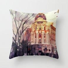 Madrid Throw Pillow