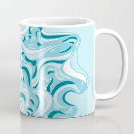 Urchin Blue Coffee Mug