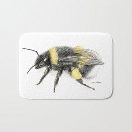 White-tailed bumblebee Bath Mat