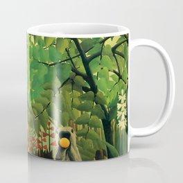 """Henri Rousseau """"Exotic landscape"""", 1910 Coffee Mug"""