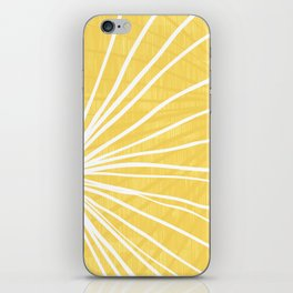 Dandelion in Yellow by Friztin iPhone Skin