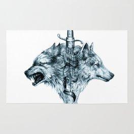 Dire Wolf Rug