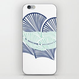 Boho Art Deco Indigo iPhone Skin
