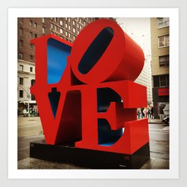 Love Sculpture - NYC Art Print