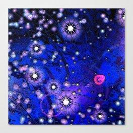 Novas Ultramarine Blue Canvas Print