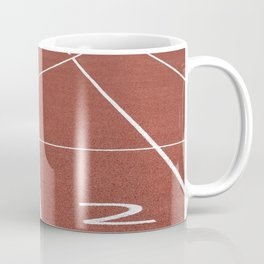 Athletics running racecourse Coffee Mug
