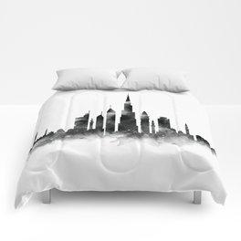 Dubai Skyline Comforters