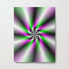 Spark Generator Metal Print