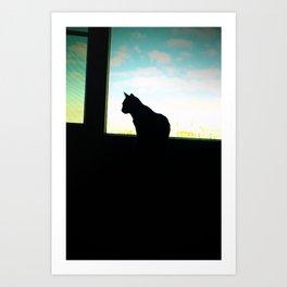 Cat Noir Art Print
