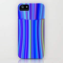 New Year Stripes iPhone Case