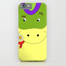 Cute snake in love children's illustration iPhone 6s Slim Case