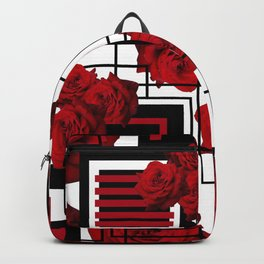 Behind the Rosey Bars Backpack