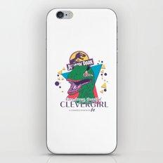 Clevergirl iPhone & iPod Skin