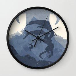 Skyrim (II) Wall Clock