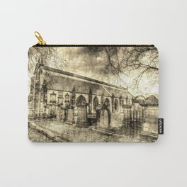 Greyfriars Kirk Edinburgh Vintage Carry-All Pouch
