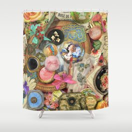 Vintage Vanity Shower Curtain