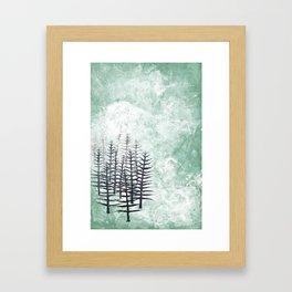 January Abstract Framed Art Print