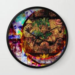 Kemetic Holy Trinity Wall Clock