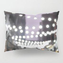 Scottish Photography Series (Vectorized)- Glasgow City Lights Pillow Sham
