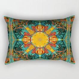 Mandala #3 Rectangular Pillow