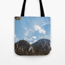 Mountains in the background XXIV Tote Bag