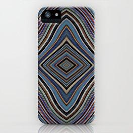 Wild Wavy Diamonds 28 iPhone Case