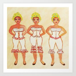 THREE SISTERS ART Art Print