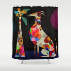 HOUND & VASE Shower Curtain