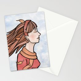 Fall Breeze Stationery Cards