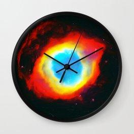 The Eye of God NGC7293 Wall Clock