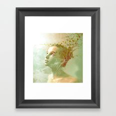 The spirit of the forgotten clearing Framed Art Print