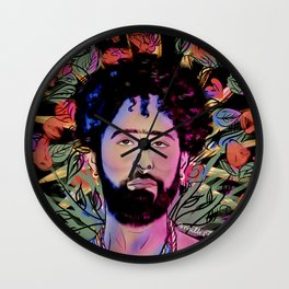 San Curly Wall Clock